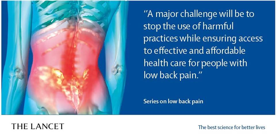 Lower back pain advice
